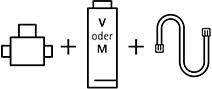 WMF Wasserfilter-Set V oder M