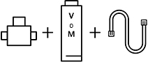 Kit de filtro de agua WMF V o M