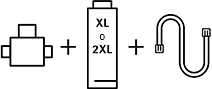 Kit de filtro de agua WMF XL o 2XL
