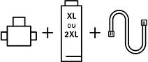 Set de filtre à eau WMF XL ou 2XL