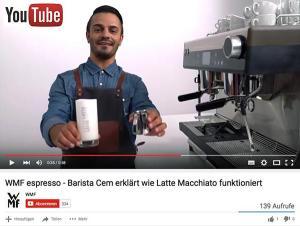 WMF Kaffeemaschinen auf YouTube