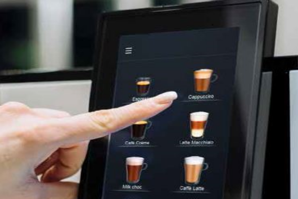 Intuitive touch display