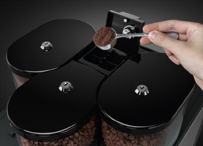 Handeinwurf für eine weitere Kaffeesorte