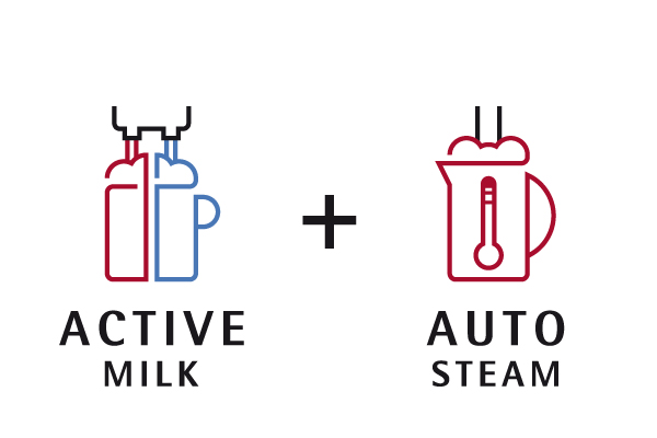 Active Milk and Auto Steam