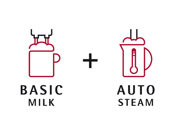 Basic Milk and Auto Steam