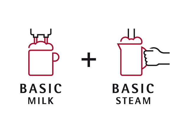 Basic Milk y Basic Steam