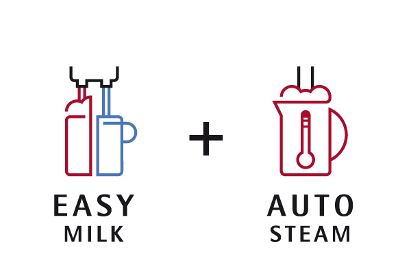 Easy Milk et Auto Steam