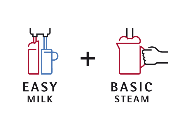 Easy Milk and Basic Steam