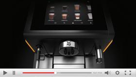 Erfahren Sie in unserem Produktvideo alles über die wichtigsten Features und Ausstattungsoptionen der WMF 9000 S+