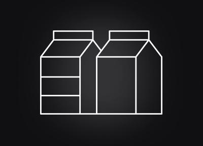 2種類のミルクに対応