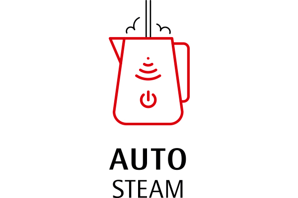Auto Steam for barista-like artistic milk frothing