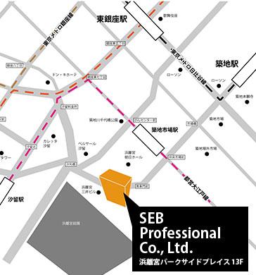Japan Showroom Map